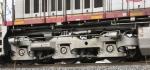 BNSF 620's rear trucks