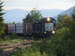 Kelowna Pacific afternoon north bound just past Tolko Armstrong mill