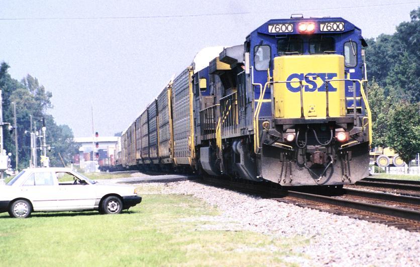 CSXT Q179 from Waycross