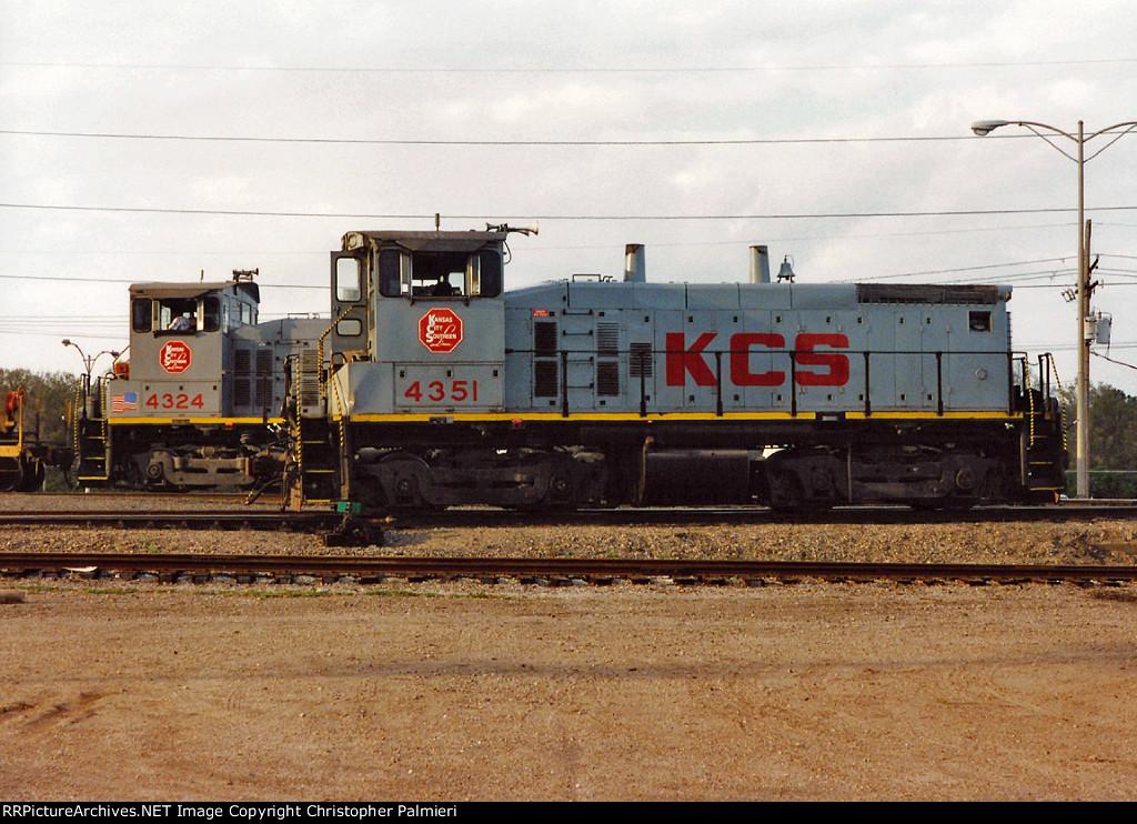 KCS 4351 and KCS 4324