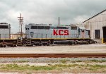 KCS 611 at West Yard