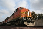 BNSF 545 basking in the sun.