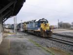 CSX 6118 at the Depot