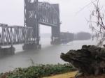 Bridge Lifted for sailboat