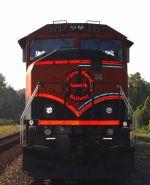 Dual paint schemed BNSF 9297