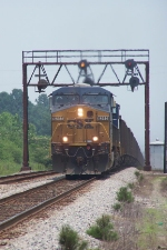 CSX 5263 southbound loaded coal