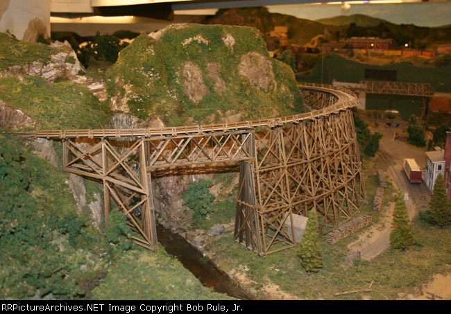 The Curved Narrow Gauge Trestle