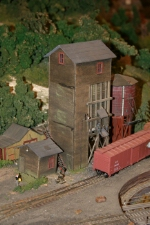 Fairbanks Morse Coaling tower at Cedar Haven Yard
