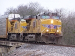 UP 5529 & UP 5306