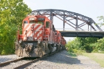 CP power sitting underneath hill to hill bridge