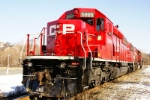 Freshly Painted CP SD40-2