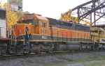 NREX SD45-2 in BNSF Heritage 1 Paint