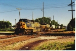 CSX 5004 with grain train