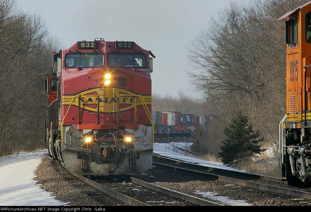 BNSF 632E