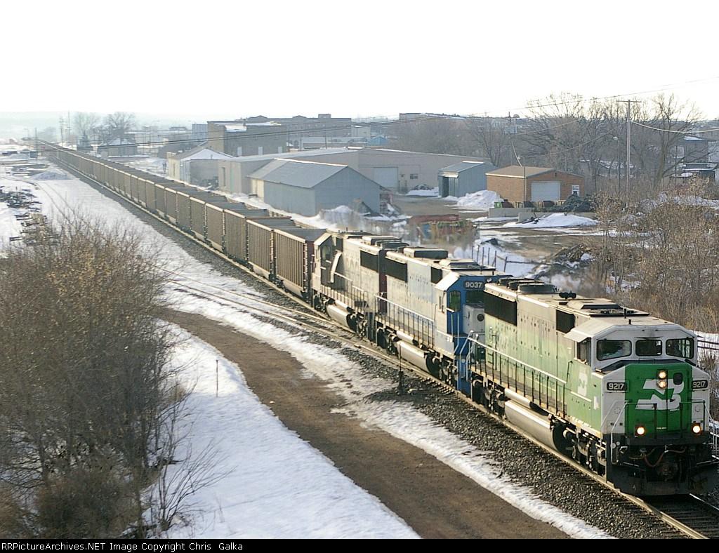 BNSF 9217W