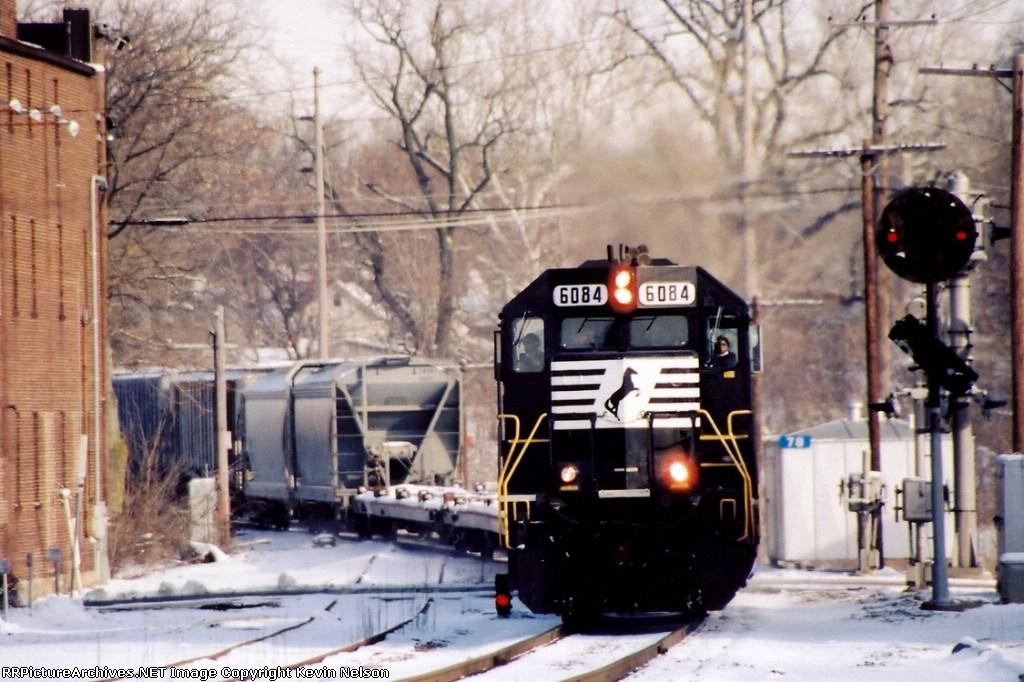 NS 6084 SD40-2