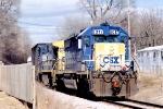 CSX 8017 SD40-2