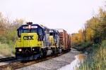 CSX 8831 SD40-2