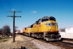 UP 4084 SD70M