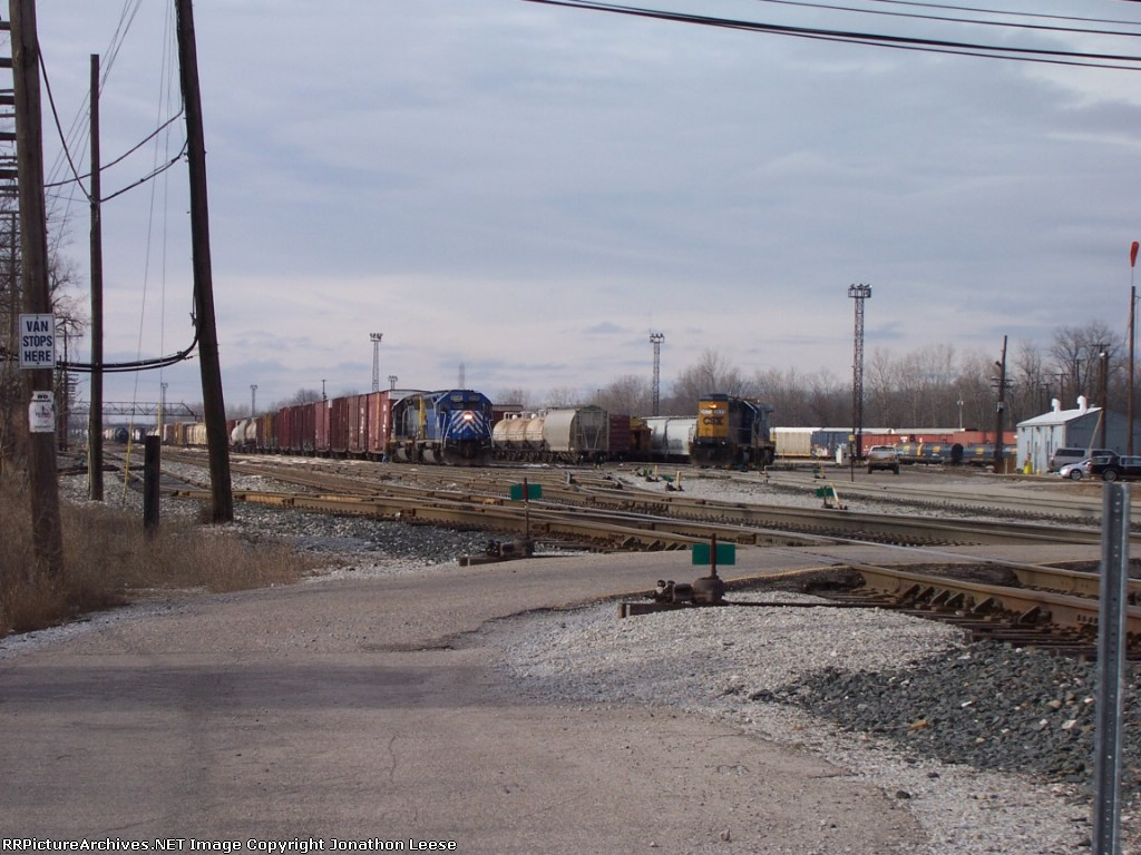 Q326 and East End Switcher
