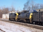 CSX 7891 Smokes It Up
