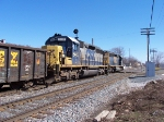 CSX 8442 & 8020 Heading Towards Ivanrest