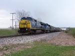 CSX 7327 & CEFX 3121 Lead X369-29 West