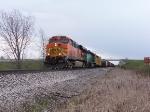BNSF 7720 & BNSF 6910 Leading Q335-30