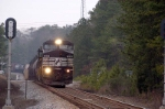 NS 155 rolls south about 9 miles out of columbia sc