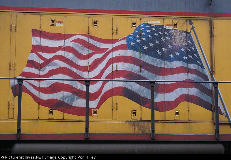 Union Pacific Flag Scheme
