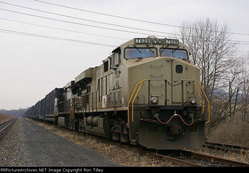 64J Rests at the Ramp Yard