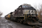 Locomotives Sitting on old Main 4 