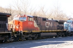 CN 2608 in the line up on old main 4