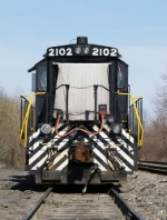 NS 2101 on old Main 4