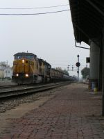 N/B by the depot