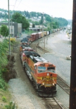 BNSF 4560 North on the Lowline