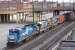 Ex Conrail unit 5963 leads CSX train M735