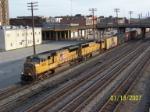 UP 4802 leads CSX train 519