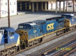 Closeup of CSX 7325
