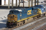 Closeup of CSX 5265