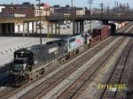 NS 8820 leads train 183