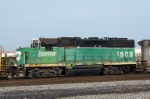 Closeup of BNSF 1509