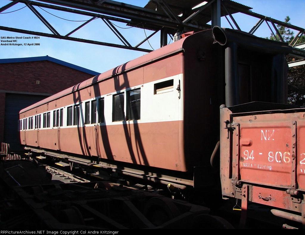 SAR Steel Coach (Side B)