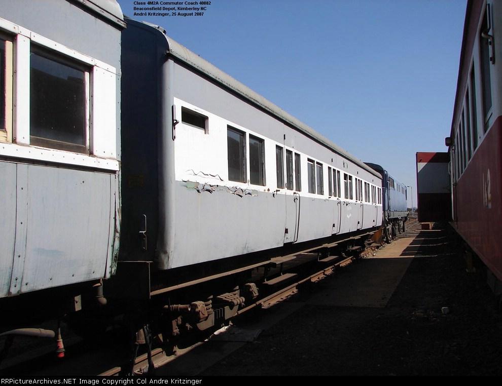 SAR Steel Coach (Side A)