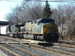 CSX 671 on the Old Main