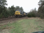 Ex Conrail Unit leading Q264