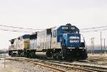 CSX 8648 & 7696