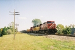 CP 9517 rolling west with X501