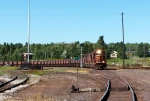 DMIR 212 gets the high green to lead loads toward the Duluth docks