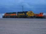 BNSF 2597, 2243 & 3704